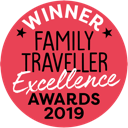 Winner of the 2020 Family Traveller Excellence Award