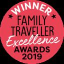 Winner of the 2020 Family Traveller Excellence Award